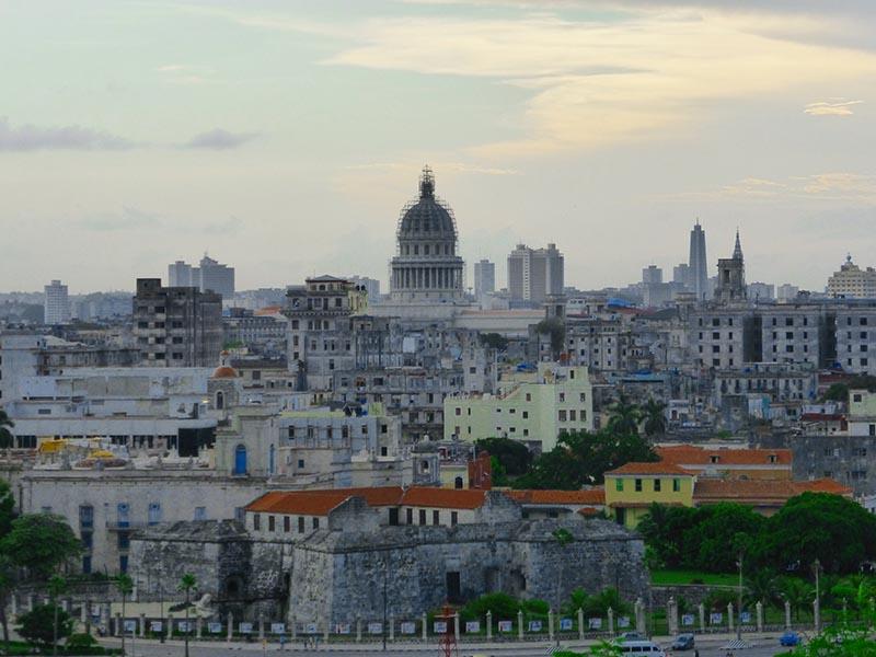 Vistas desde el Cristo Redentor de la Habana, Cuba