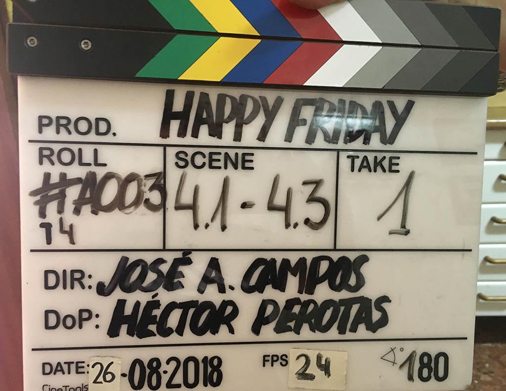 Rodaje Happy Friday